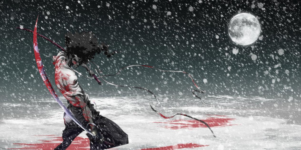 Cool Walpaper Afro Samurai The Best Anime HD Wallpaper